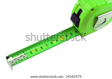Ruler for measurement of distances - stock photo