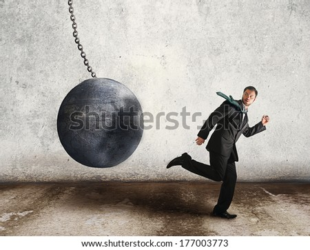 run for life - stock photo
