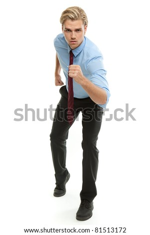 run for something - stock photo