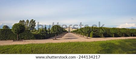 Rundale Palace in Latvia. - stock photo