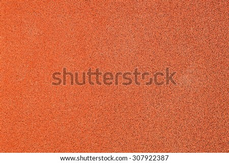 Running track surface close up - stock photo