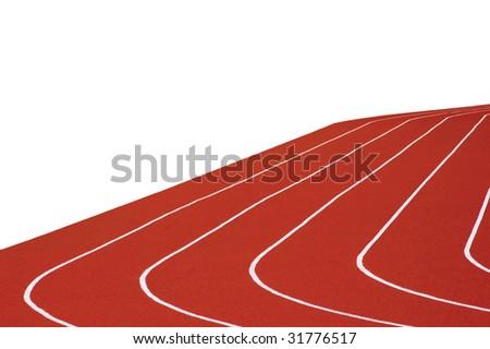 Running Tracks Background - stock photo