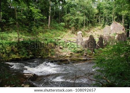 Rural Ruins - stock photo