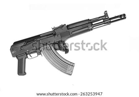 Russian assault rifle  - stock photo