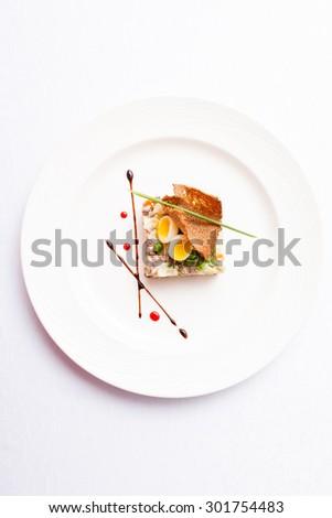 Russian salad - stock photo