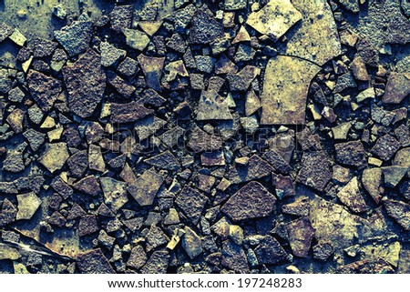 Rust and Dust Background. Vintage Texture. - stock photo