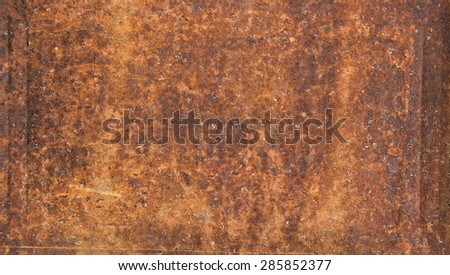 rust and steel texture, background - stock photo