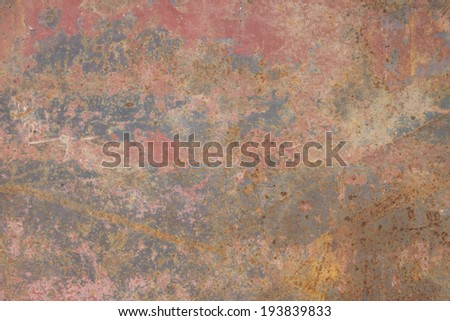rust iron - stock photo
