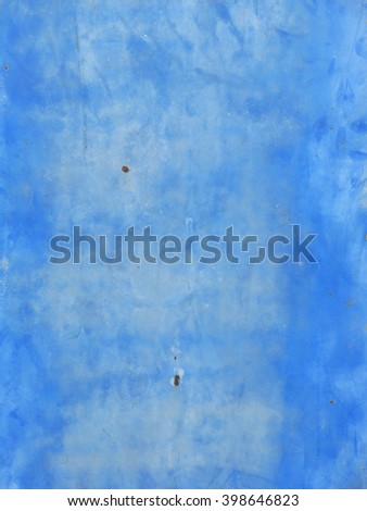 rust on blue metal texture - stock photo