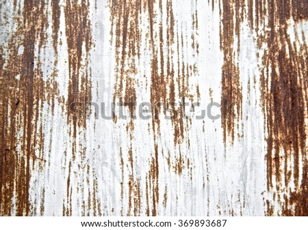 Rust sheet texture painted scratch metal wall background. Grunge texture surface metal sheet. Vintage and retro wallpaper. Close up. - stock photo