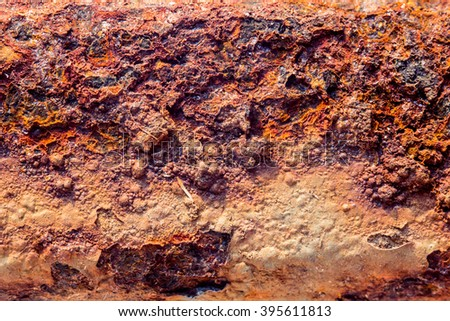 Rusted metal texture,Rusted metal background. - stock photo