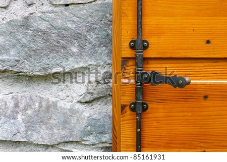 rustic - stock photo