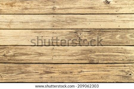 Rustic brown wood plank texture. - stock photo