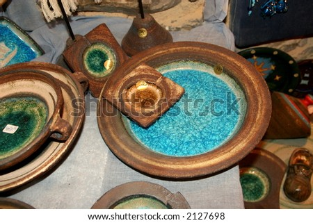 Rustic pieces of art - stock photo