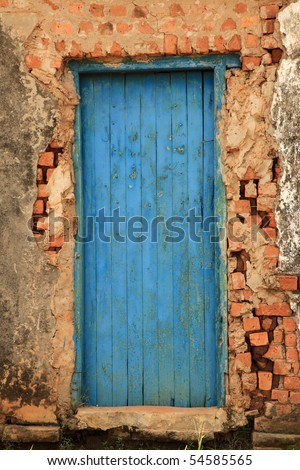 Rustic Rundown Building with Character - stock photo