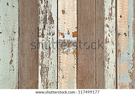 Rustic wood background - stock photo
