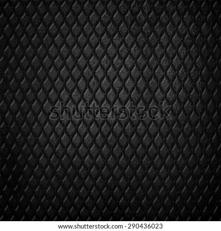 rusty black metal background - stock photo