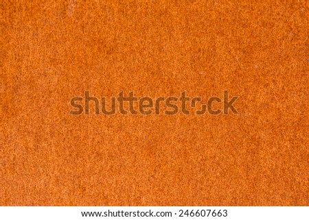 Rusty Corroded Metal (Weathering Steel) Background Texture - stock photo