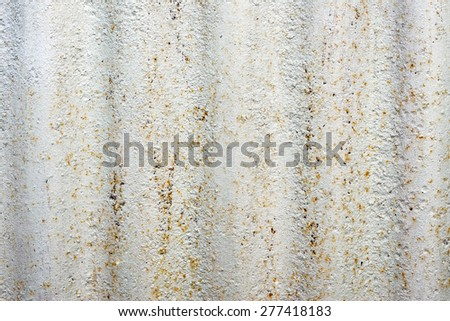 rusty corrugated iron metal texture background - stock photo
