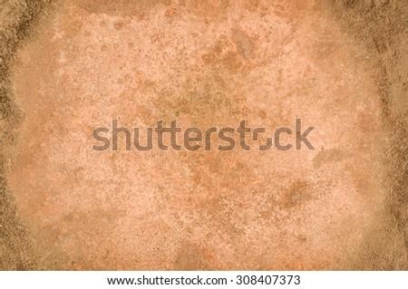 Rusty distressed metallic corrosion surface texture - stock photo