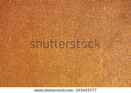 Rusty mesh - stock photo