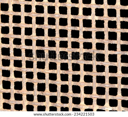 rusty metal as background - stock photo