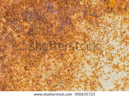 Rusty Metal, Corrosion of the surface, Grunge texture or background. - stock photo