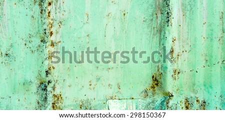 rusty metallic frame texture background - stock photo