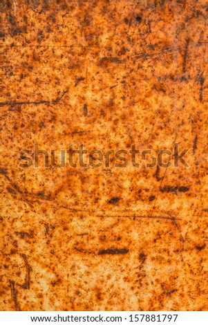 Rusty old metal texture background - stock photo
