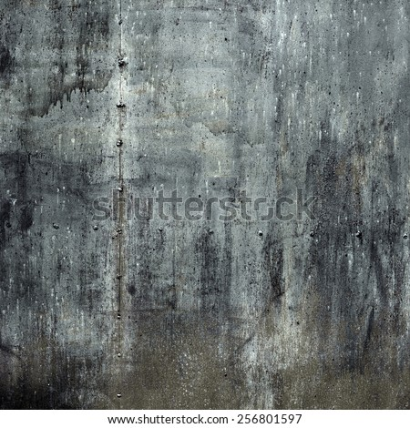 Rusty Steel Metal with cracked paint, grunge background - stock photo