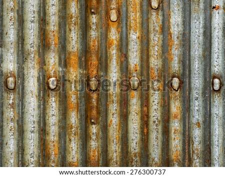 Rusty texture - stock photo