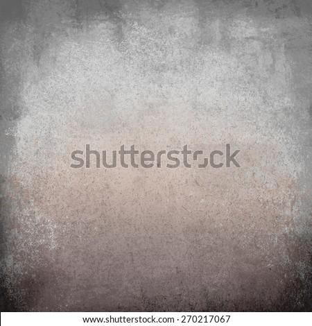rusty wall grey - stock photo