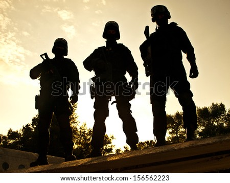 S.W.A.T. - stock photo