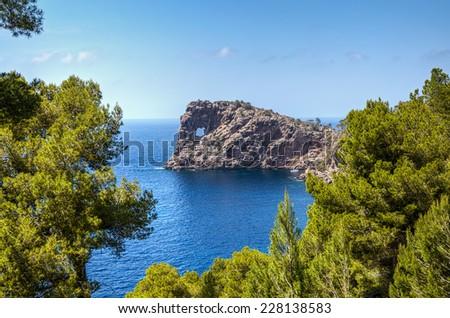 Sa Foradada in Mallorca - stock photo