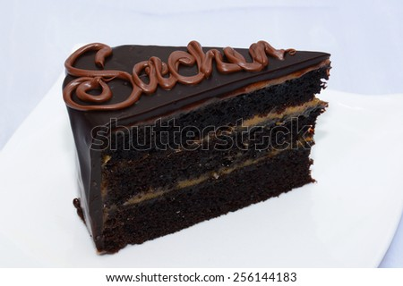 Sacher Torte - stock photo