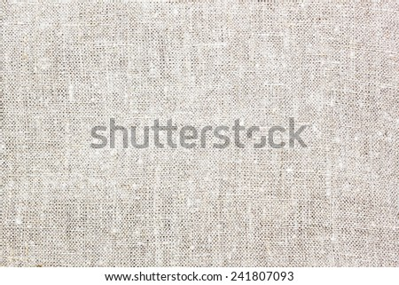 Sacking surface - stock photo