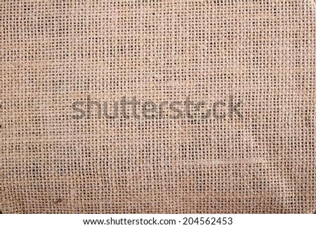 Sacking texture, background - stock photo
