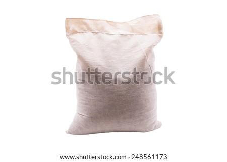 Sacks of rice - stock photo