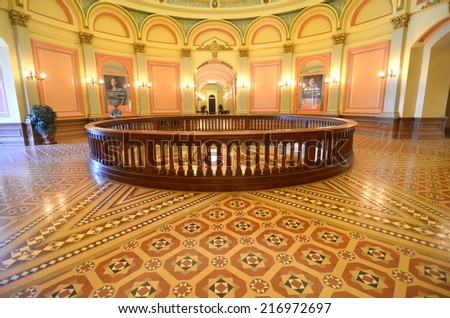 Sacramento Capitol Building, CAlifornia, USA - stock photo