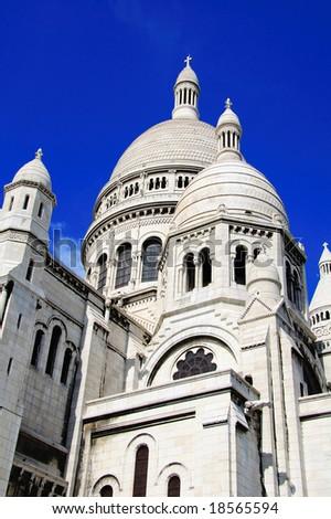 Sacre Couer, Paris - stock photo