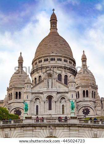 Sacre Couer, Paris, France - stock photo