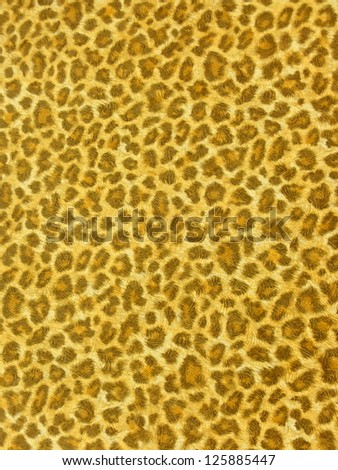 Safari, exotic, bright background in vibrant, spring yellow. More of this motif and more backgrounds in my port. - stock photo