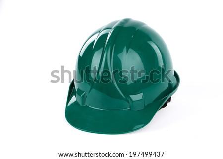 safeti helmet - stock photo