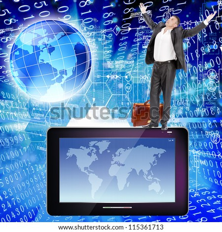 Safety computers - stock photo