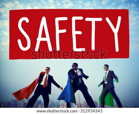 Safety Data Protection Network Security Safe Concept - stock photo