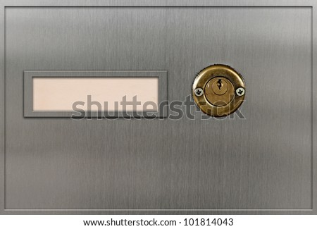 safety deposit boxes - stock photo