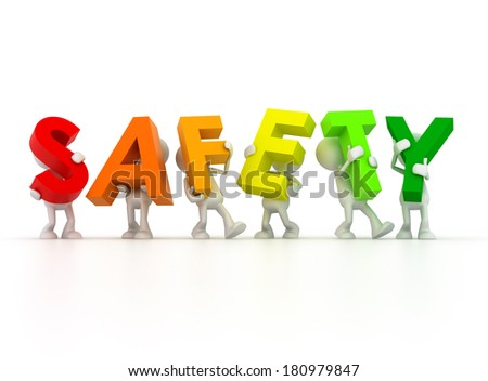 Safety First - stock photo