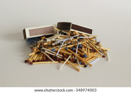 Safety matches - stock photo