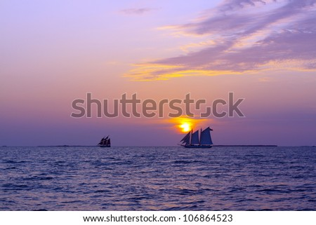 Sailing Boats - stock photo