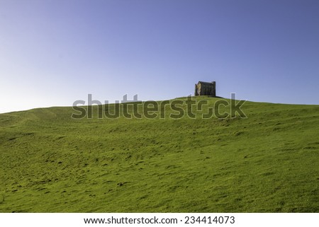 Saint Catherine's Chapel, Abbotsbury, Dorset - stock photo